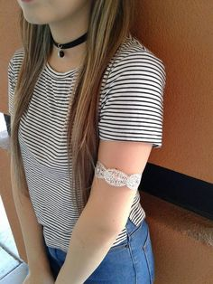 Chokers & arm cuffs - What more could a girl ask for?! Find all your favorite #accessories at #PlatosTucson! #AccessoriesAreAGirlsBestFriend #CantGetEnough #90sStyle #chokers #ArmCandy #accessorize #SoCute #NeedIt | www.platosclosettucson.com