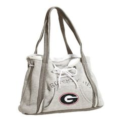 NCAA Georgia Bulldogs Hoodie Purse by Pro-FAN-ity by Littlearth. Save 10 Off!. $26.99. Pro-FAN-ity by Littlearth offers you the authentic feel of your favorite sweatshirt in their Officially Licensed Hoodie Purse. These purses take the authentic look and feel of your favorite team sweatshirt and craft them into purses that will give you that Saturday night style, even when you're heading off to the Sunday afternoon game. Vintage detailing and decorative lacing are just a few of the ways L...