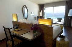 Deluxe ocean front room. Hotel Fasano Rio De Janeiro. Elegant sophistication in Ipanema. By Hotelied.