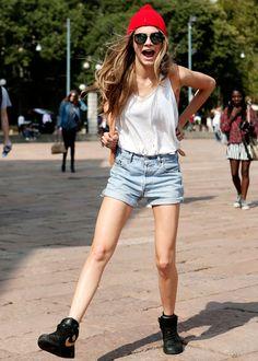 Trend: Sportswear  Modern-day icon: Cara Delevingne