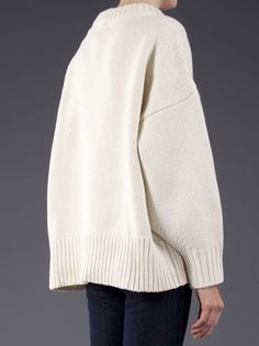 Chic Simplicity - cashmere sweater, contemporary knitwear details // The Row