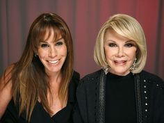 Melissa and Joan Rivers Mother Daughter Photography, Joan Rivers, Daughters, Mothers, Sisters, Girls, Daughter
