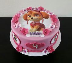 birthday gifts for him Paw Patrol Torte, Skye Paw Patrol Cake, Paw Patrol Cupcakes, Paw Patrol Birthday Girl, Birthday Cake Girls, Birthday Kids, Cake Disney, Bolo Fack, Kolaci I Torte