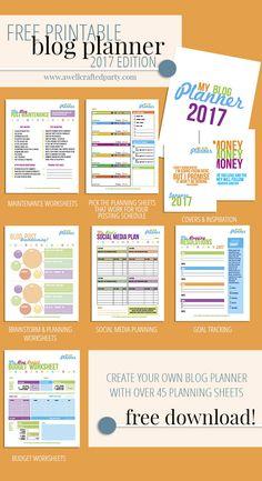 2017 Free Printable