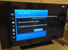 How to turn off snooping smart TV features