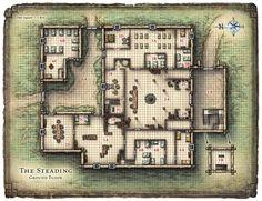 Steading, tavern inn