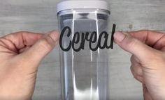 Cette astuce est tellement géniale que vous voudrez mettre des étiquettes sur tous vos pots! - Trucs et Bricolages