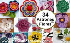 No pierdas estos 34 magníficos patrones de flores en crochet, con el tutorial paso a paso. Las flores son fantásticas porque traen alegría y un poco de primavera para su casa o parasu ropa. Las flores de ganchillo son muy … Ler mais... →
