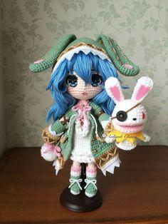 Crochet amigurumi doll                                                                                                                                                     More