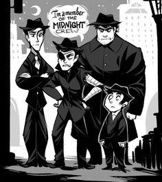 Midnight Crew by xamag