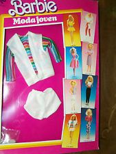 2187 MODA JOVEN SHORTS BARBIE DOLL FOREIGN FASHION imported Spain (c)1986