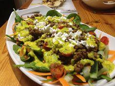 Jamie Oliver 15 minute meals Indian salad