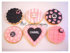 CHANEL cookies by Y&C sweetscompany, via Flickr