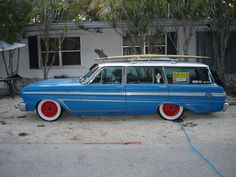 Viewing Auction #280609252780 - Ford Falcon Rat Rod Surf Wagon | Keith Martin's Collector Car Price Tracker