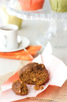 Whole Wheat Pumpkin Muffins with Toasted Almonds from Cookin' Canuck. http://punchfork.com/recipe/Whole-Wheat-Pumpkin-Muffins-with-Toasted-Almonds-Cookin-Canuck