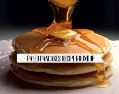 Paleo Pancakes Recipe Roundup | Easily Paleo, gluten-free, grain-free, soy-free and dairy-free. Such a crowd-pleasing breakfast recipe.