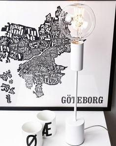 Vi har 40% på denne stilige bordlampen fra @globenlighting! #lightupno #belysning #lightbulb #decor #design #interior