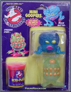 Kenner The Real Ghostbusters Series 3: Mini Goopers 1986