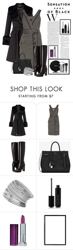 """""""Untitled #354"""" by riuk ❤ liked on Polyvore featuring Miss Selfridge, Proenza Schouler, Burberry, Yves Saint Laurent, Vision, Marc Jacobs, Chanel, Maybelline, Bomedo and Christian Louboutin"""