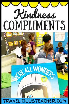 If there's one thing the world needs more of - it's kindness! I want to share this FREE Kindness Compliments activity with you in hopes that it will help spread some good ol' TLC in your classroom. #ChooseKind #Kindness #KindisCool #BacktoSchool #BacktoSchoolActivity #Wonder #Education #SocialEmotional #KindnessCompliments #Primary #Elementary #Teacher #MiddleSchool #ClassroomIdeas #TeacherInspo #TeacherInspiration #BeKind #KindnessisContagious #TeacherLife Fun Writing Activities, Fun Writing Prompts, Kindness Activities, Back To School Activities, Mindfulness Activities, Classroom Activities, Classroom Ideas, Teacher Blogs, Teacher Resources
