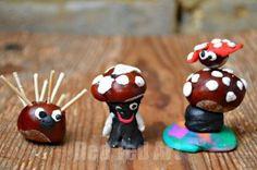 Kastanien Conker Crafts