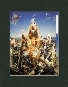Zakk Wylde Matted Pin Up - Vintage Music Pin Up - Music Gift - Ozzy Osbourne - Revolver Magazine - Music Memorabilia - 2000s Pin Up by MusicSellerz on Etsy