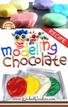 Cake Decorating Tips And Tricks Tutorials Modeling Chocolate Ideas - - Cake Decorating Simple Ideen - Torten Cake Decorating Tools, Cake Decorating Techniques, Cookie Decorating, Decorating Ideas, Modeling Chocolate Recipes, Chocolate Molds, Cake Chocolate, Molding Chocolate, Chocolate Desserts