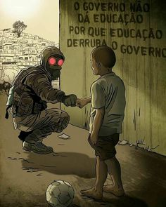 """""""The government does not give education because Education takes down a government"""" ~~ isnt exactly an accurated translation Cyberpunk, Satire, Graffiti, Street Art, Nerd, Stargate, Thoughts, Humor, Feelings"""