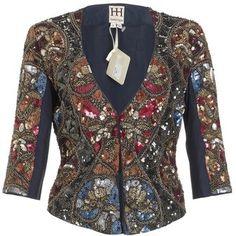 ShopStyle: Haute Hippie Embellished Bowie Jacket