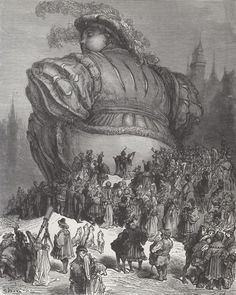 Gustave Doré illustrations (1854) for Gargantua (1534) and Pantagruel (1532) , by François Rabelais