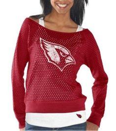 Arizona Cardinals Womens Holy Long Sleeve T-Shirt and Tank - Cardinal   AZCardinals   73f8ca78ab