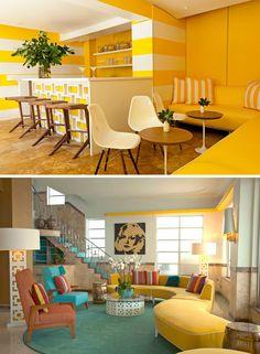 Reception Lounge Inspiration | Refined Retro Decor and Details - Wedding Inspiration