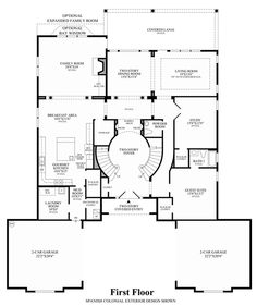 Best Double Staircase House Plans Arts Luxury House Designs 400 x 300