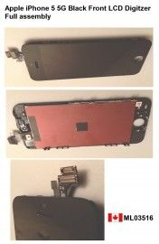 Apple Black iPhone 5 5G Front LCD Display+Touch Digitizer Screen lens Assembly    Price = $310.50