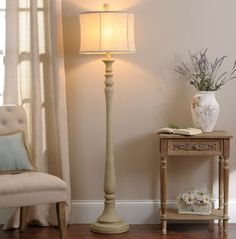 Kirkland Floor Lamps Mackinaw Cream Floor Lamp  Lamps Table Buffet & Floor  Pinterest