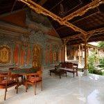 sitting area @ Honeymoon Guesthouse, Ubud