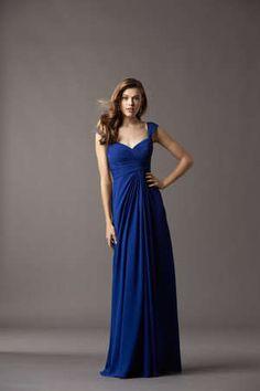 @Watters royal blue bridesmaid dress