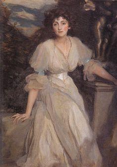 Norah Lindsay by Harrington Mann