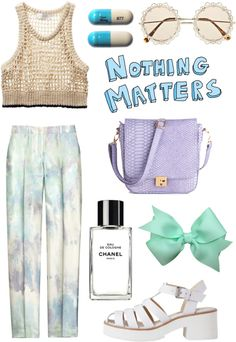 """""""pastel"""" by klass-act ❤ liked on Polyvore"""