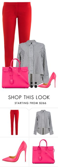 """""""Untitled #1614"""" by directioner-123-ii ❤ liked on Polyvore featuring STELLA McCARTNEY, Christian Louboutin, Yves Saint Laurent, Givenchy and FFfatifashion"""