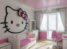 Girls Bedroom Themes Hello Kitty 4
