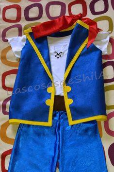 Las cosas de ShilA: Tutorial disfraz Jake el pirata