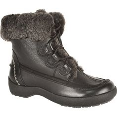 Womens Blondo Alpine Mid Calf Boots Black Leather - ONLY $209.95