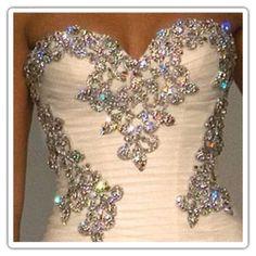 Pnina Tornai i want bling. lots of bling. Bling Wedding, Wedding Events, Our Wedding, Dream Wedding, Trendy Wedding, Luxury Wedding, Ivory Wedding, Crystal Wedding, Wedding Stuff
