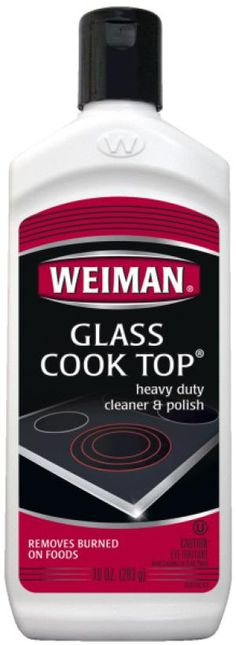 The 5 Best Cleaners for Smooth-Top Cooktops: Weiman Cook Top Cleaner
