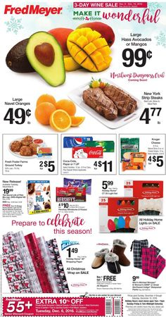 Fred Meyer Weekly Ad Circular December 4 - 10