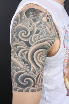 tattoo mandala wave - Google Search