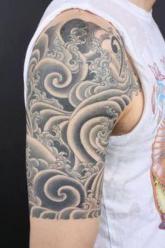tattoo mandala wave - Google Search