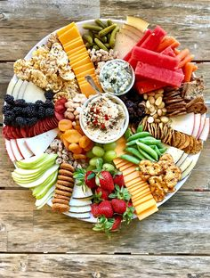 How to make an epic snack tray kellyelko.com #snacks #recipes #appetizers #potluck #cheeseboard