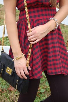 Love this bag from Francesca's with Stella and Dot jewels